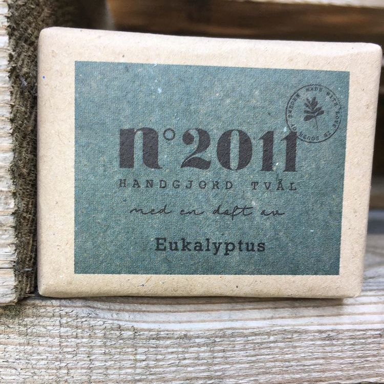 No 2011 - Ekologisk eucalyptustvål