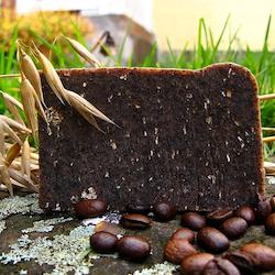 Pimpstenstvål med kaffe