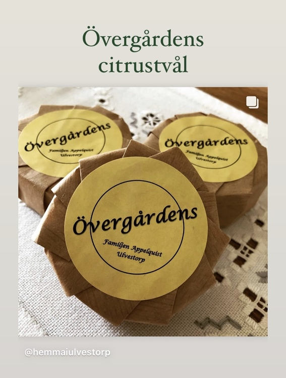 Citrustvål