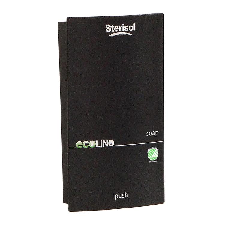 Sterisol® Hållare till ÄKTA Flytande Tvål, Svart 375 ml