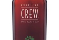 American Crew 3In1 Tea Tree schampo