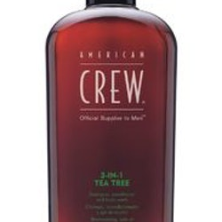 American Crew 3In1 Tea Tree schampo