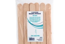 10 st Träspatel till varmvax  engångsträspatel  15x1,8 cm