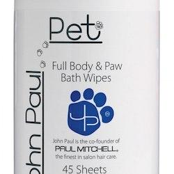 John Paul Pet Full, Body & Paw Wipes