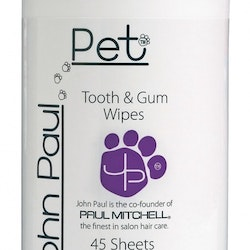 John Paul Pet Teath & Gum Wipes