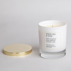 Doftljus White Tea and Sage 300 ml