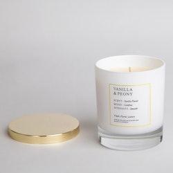 Doftljus Vanilla & Peony 300 ml