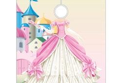 Frisörkappa barnmodell Prinsessa