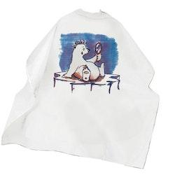 Frisörkappa barnmodell Isbjörn