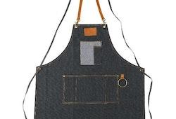 Frisörförkläde Barburys jeansmodell