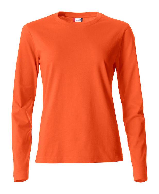 Långärmad T-shirt DAM (inkl tryck)