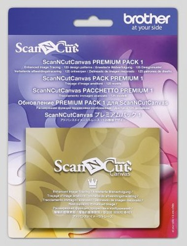 Scan N Cut Canvas Workspace Premiumpack 1 (FÖRBESTÄLLNING)