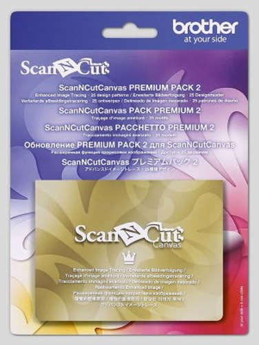 Scan N Cut Canvas Workspace Premiumpack 2 (FÖRBESTÄLLNING)