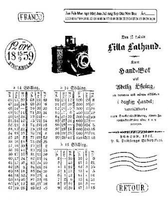 Rubber - Bildark A6 Kamera (Gummi)