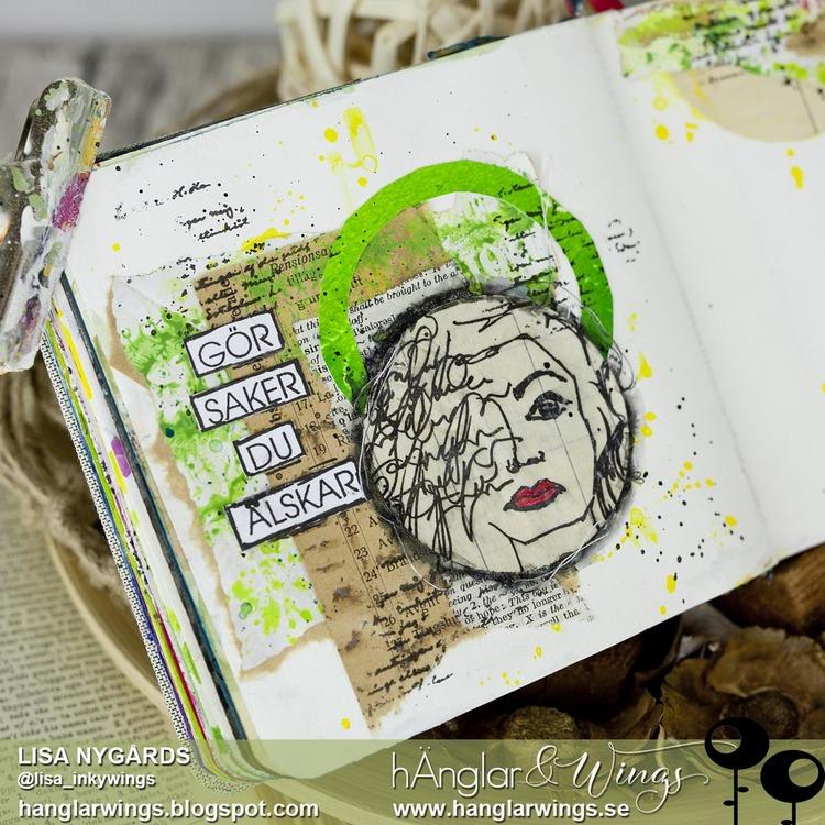 Clear Stamps - Ansikten #1