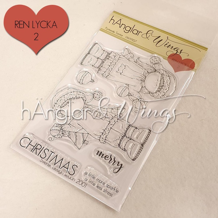 Clear Stamps - Pyntande Tomtar