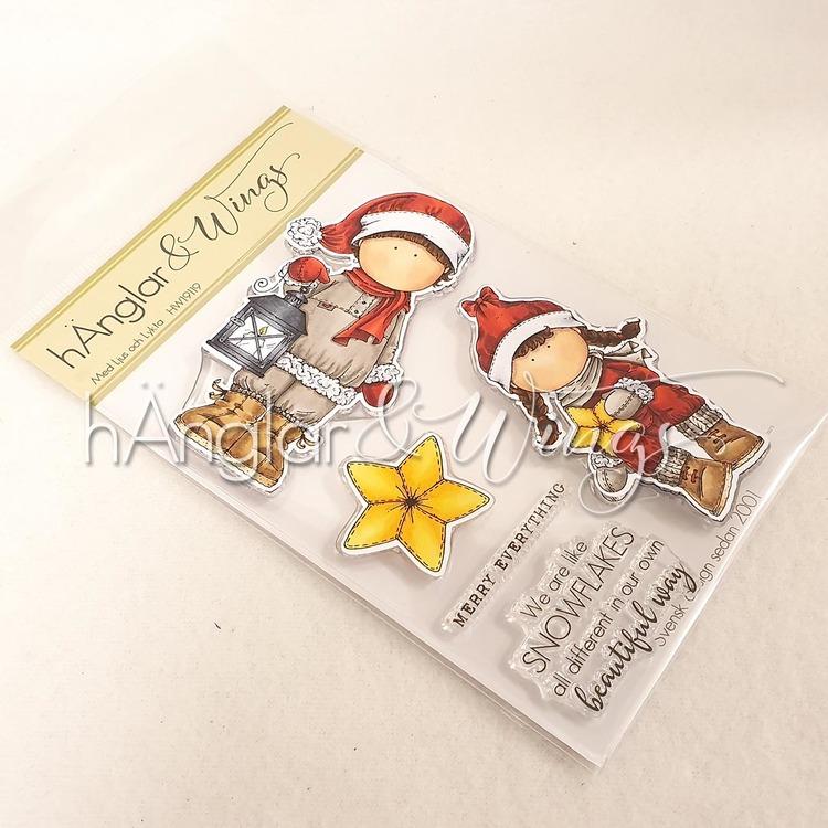 Clear Stamps - Med Ljus och Lykta