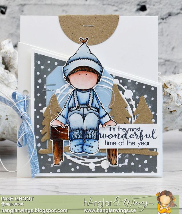 Clear Stamps - Väntande Tomtar / Waiting Santas