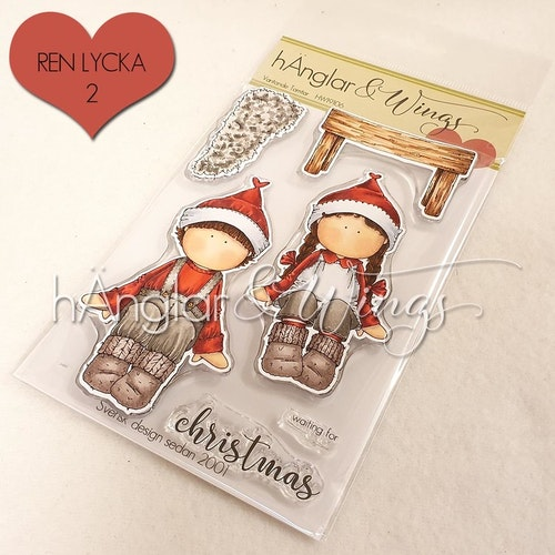 Clear Stamps - Väntande Tomtar / Waiting Santas
