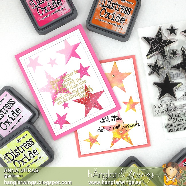 Clear Stamps - Stjärnor