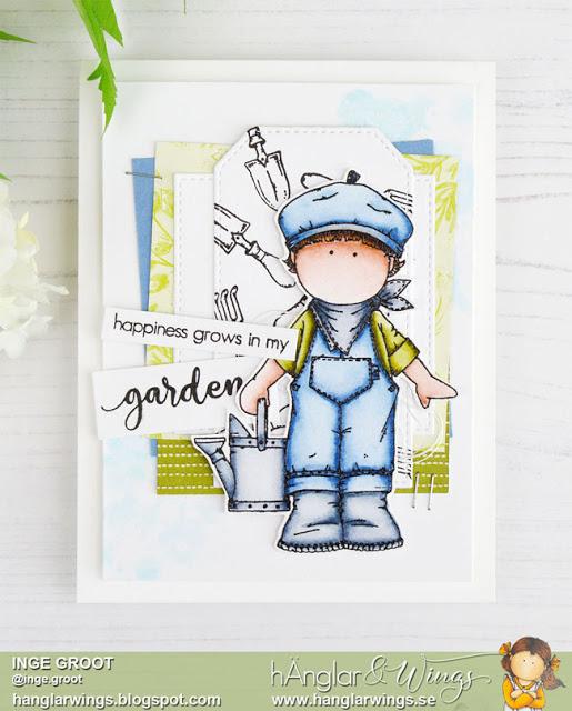 Clear Stamps - Trädgårdsmästare / Gardener