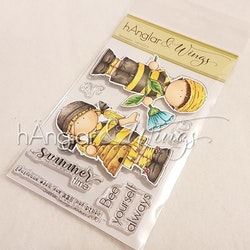 Clear Stamps - Sommarbin (kommer utgå!)