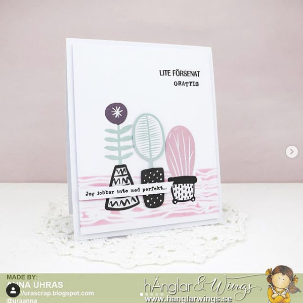 Clear Stamps - Skrivmaskin