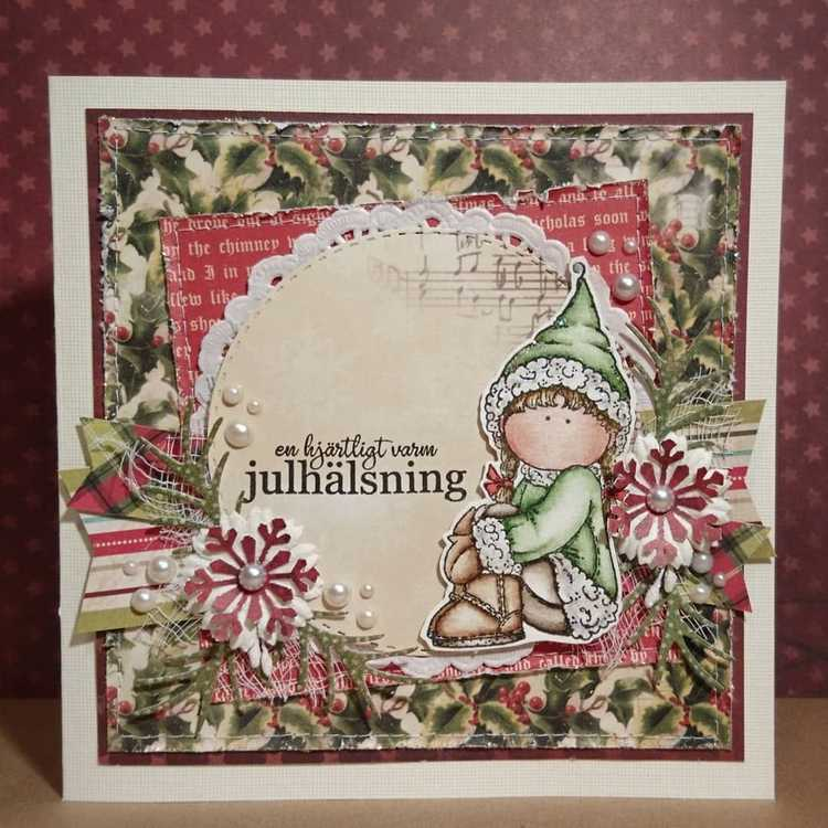 Clear Stamps - Ullsockor