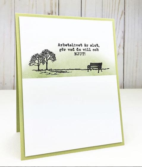 Clear Stamps - Pension A7