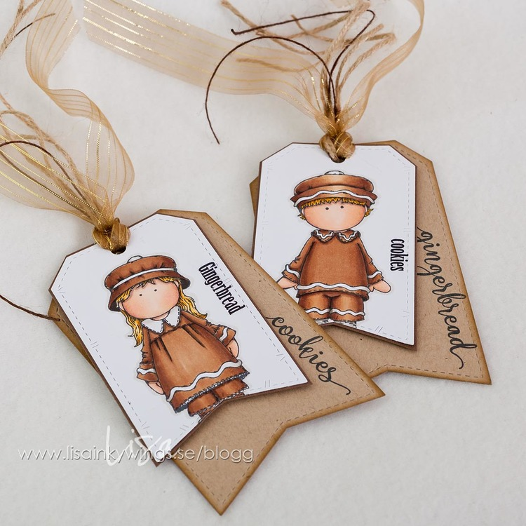 Clear Stamps - Pepparkakskille 2018 A7