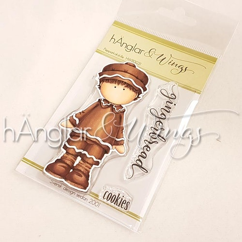 Clear Stamps - Pepparkakskille 2018 / Gingerbread Boy 2018 - A7