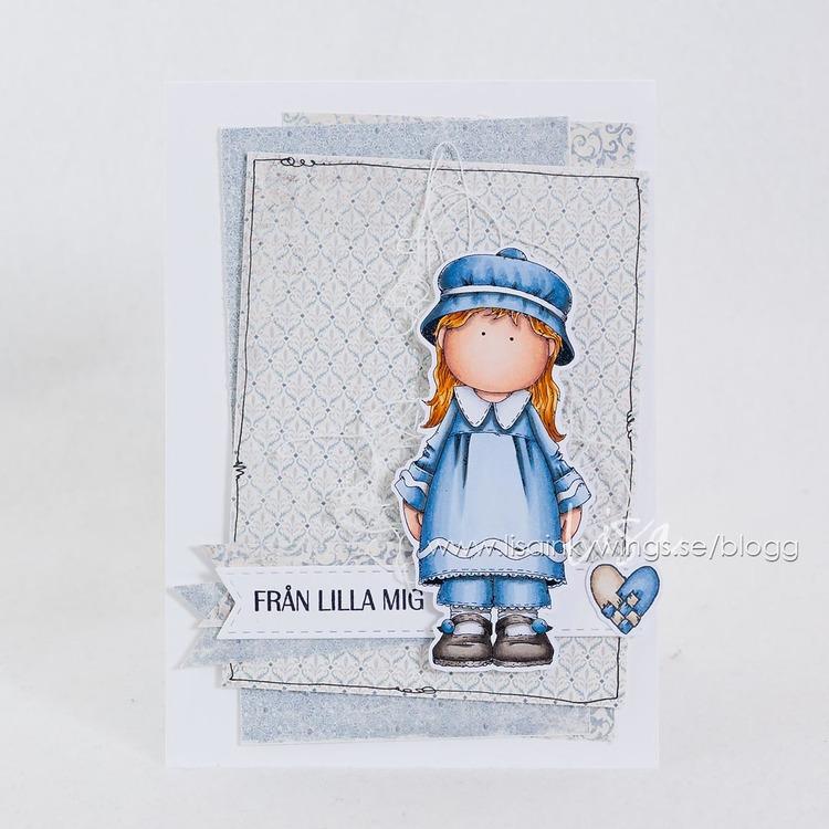 Clear Stamps - Pepparkakstjej 2018 / Gingerbread Girl 2018 - A7