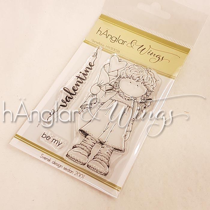 Clear Stamps - Hjärteflicka A7