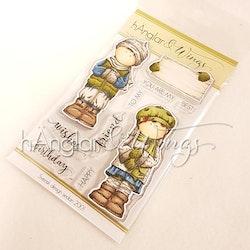 Clear Stamps - Par med Skylt