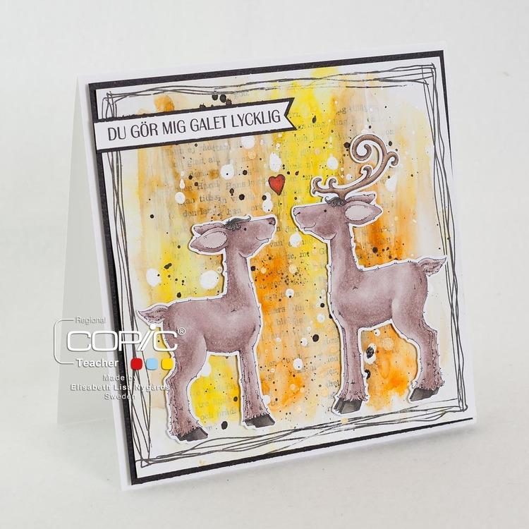 Clear Stamps - Ren Glädje