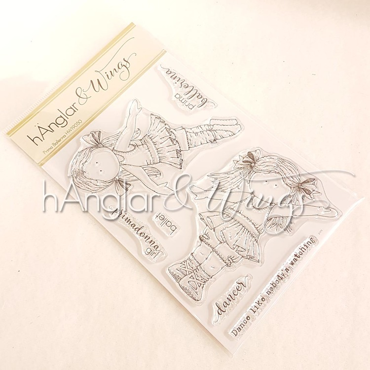 Clear Stamps - Prima Ballerina