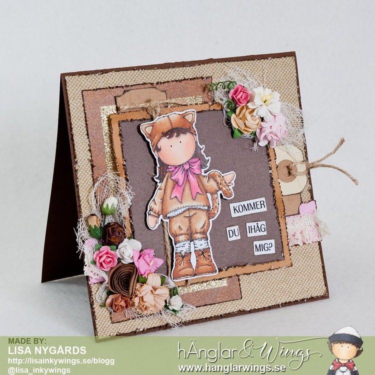 Clear Stamps - Kattflicka A7