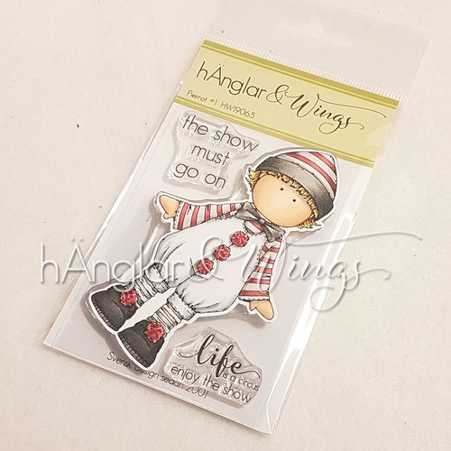 Clear Stamps - Pierrot #1 A7