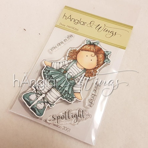 Clear Stamps - Elvira A7