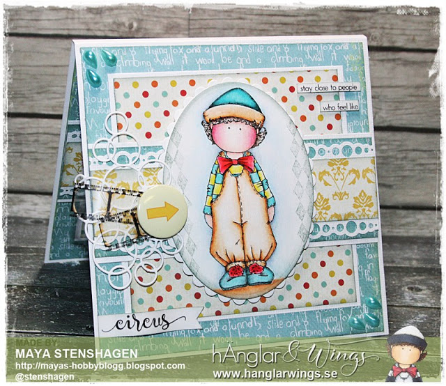 Clear Stamps - Pierrot #2 A7