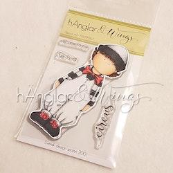 Clear Stamps - Pierrot #2 A7 (kommer utgå!)