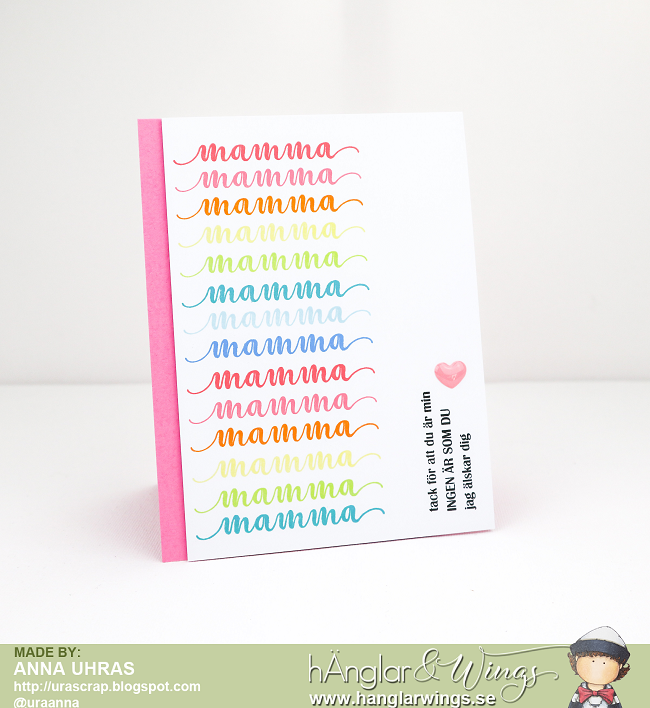 Clear Stamps - Mamma A7