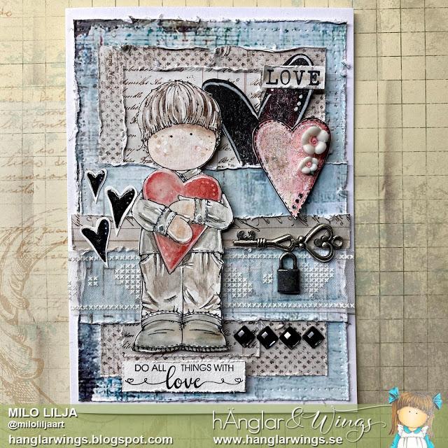 Clear Stamps - Hjärtevänner