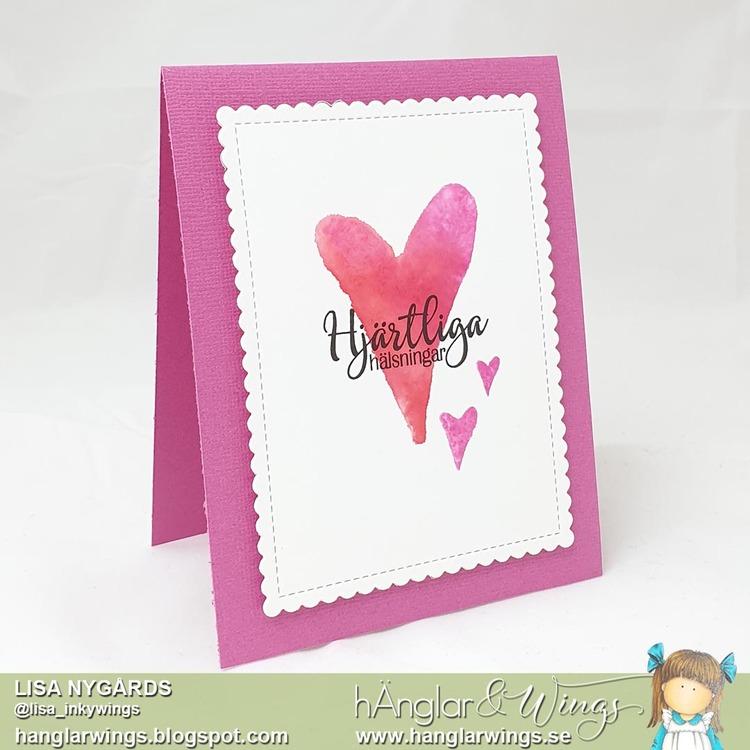 Clear Stamps - Hjärtan