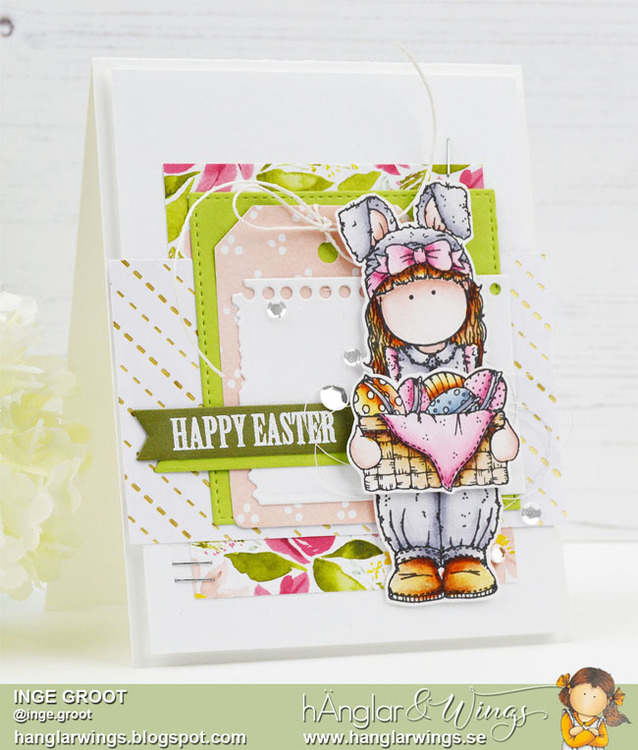 Clear Stamps - Påskharar / Easter Bunnies