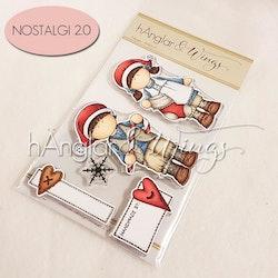 UTGÅTT - Clear Stamps - Polkagris