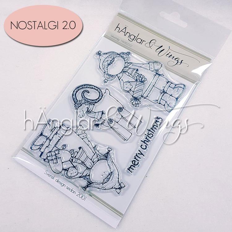UTGÅTT - Clear Stamps - Julnostalgi