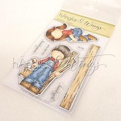 Clear Stamps - Snickarglädje / Carpenter's Joy