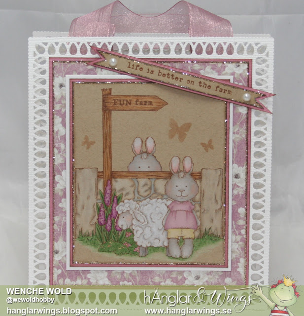 Clear Stamps - Kaninfamilj