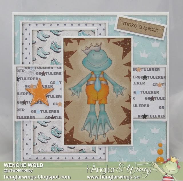 Clear Stamps - Små Grodorna / Little Frogs